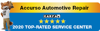 Carfax 2020 Top Rated Service Center