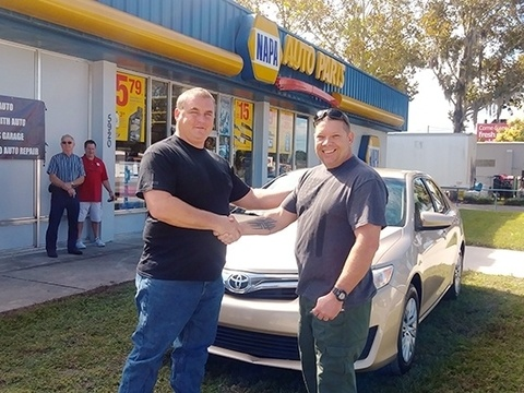 Accurso, Napa & Motors for Military Team Up & Give Away a Car!