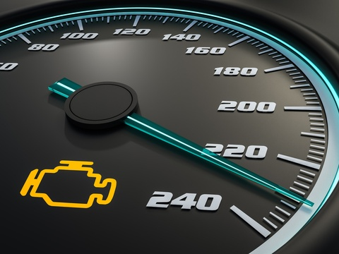 What can a check engine light mean?