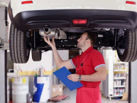 Your exhaust system can make your car louder.